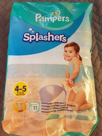 Pampers splashers pieluszki do plywania maxi 9 15 kg  11szt
