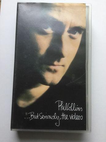 Phil Collins kaseta VHS z teledyskami
