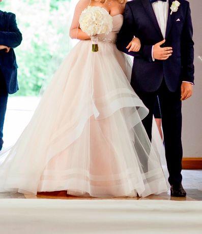 Suknia ślubna Seliya Vienna Victoria Soprano - wyjątkowa bez ramiączka