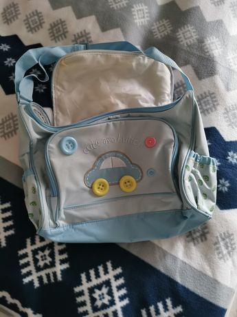rożek torba przewijak turystyczny dla chłopca