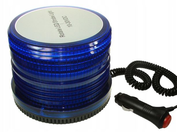 Kogut Policyjny Niebieski LED