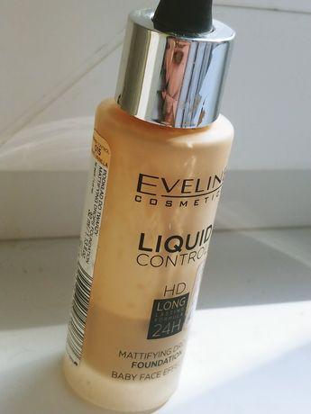 Eveline liquid control hd long lasting 015 light vanilla
