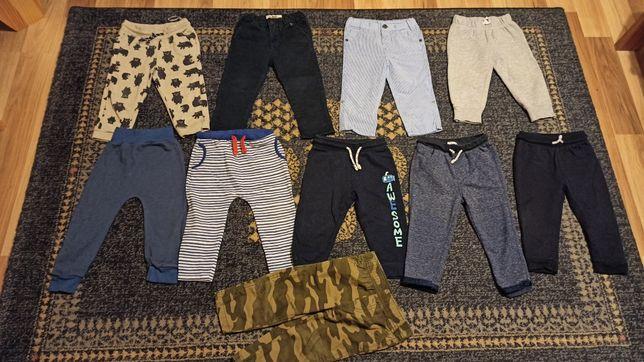 Spodnie dla chłopaka dresy  rozmiar 86 okazja 10 sztuk