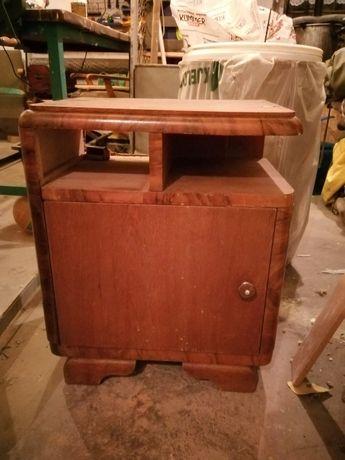 Dwie szafki nocne z lat 50 do renowacji