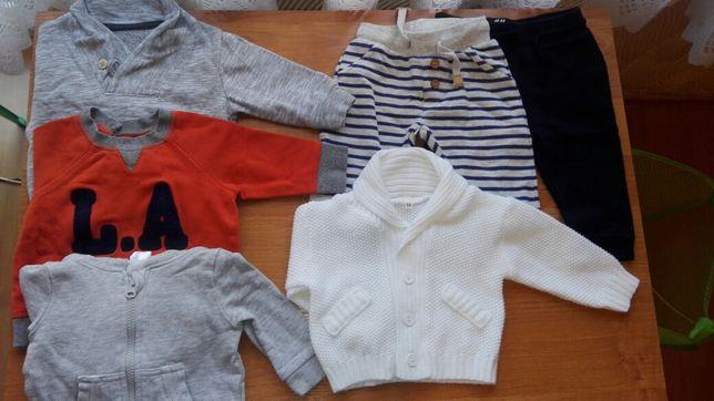 Ubranka, spodnie, bluza, sweterek, paczka