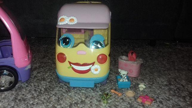 Super samochód kempingowy Barbie camper + akcesoria B.Duzy