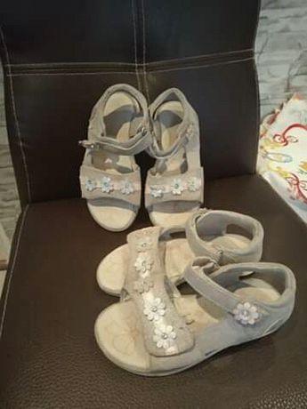 Sandały dla bliźniaczek