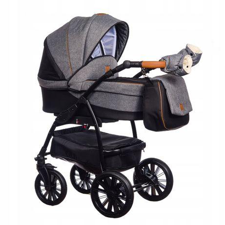 3w1 NOWY Wózek Wielofunkcyjny Paradise Baby VERSO RÓŻNE KOLORY + MUFFK