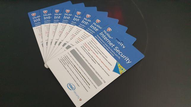 Антивірус McAfee Internet Security підписка на 1 рік