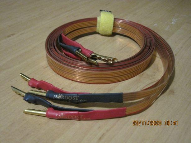 Kabel głośnikowy Nordost Superflatline - single wire banany