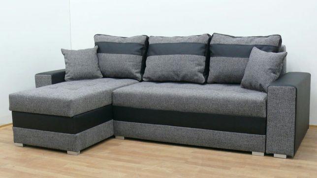 Nowy narożnik dostawa Gratis w 24godz sofa wersalka transport rogówka