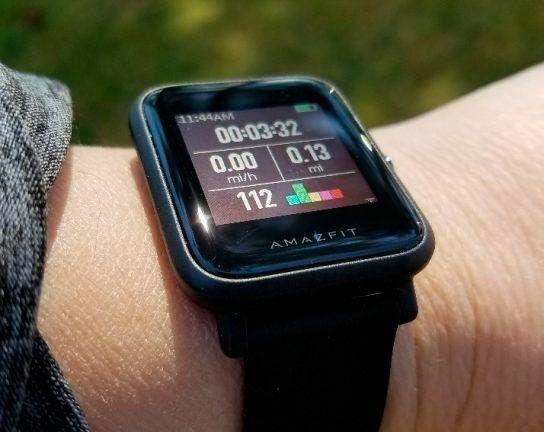 Смарт часы Xiaomi Amazfit BIP Huami ЧЕРНЫЕ
