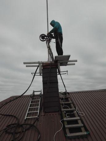 Frezowanie kominów Montaż wkładów ceramicznych i stalowych