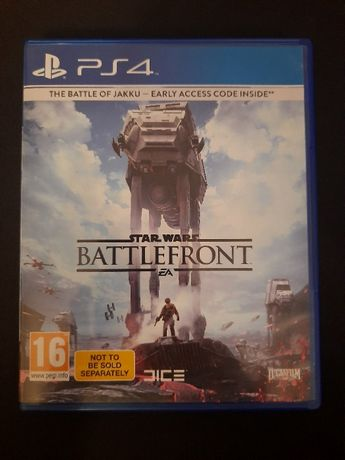 Battlefront ps4 gra Star Wars
