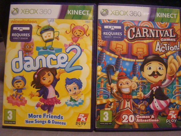 Gry na xbox 360 nickelodeon dance 2 kinect Carnival action Games
