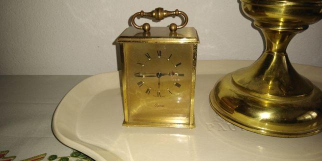 Oryginalny szwajcarski zegarek budzik SWIZA