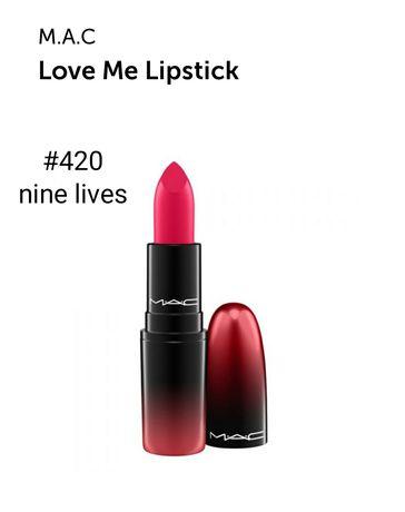 Mac lipstick, помада мак