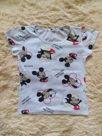 Женская футболка с мики-маусами
