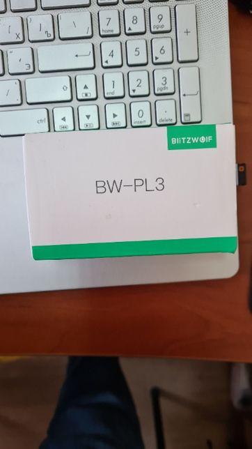 Блок живлення зарядка Blitzwolf BW-PL3 2xUSB QC3.0
