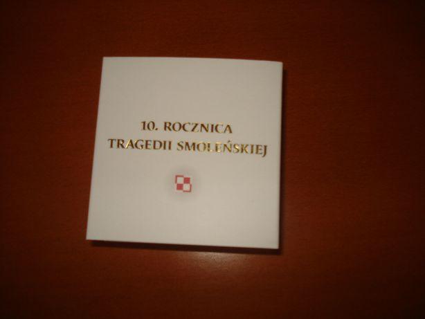 10 rocznica Tragedii Smoleńskiej 10zł 2020r