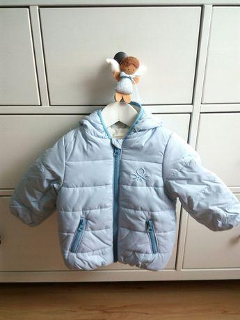 Blusão acolchoado/ Kispo / casaco impermeável, da Benetton - 12m/1 ano