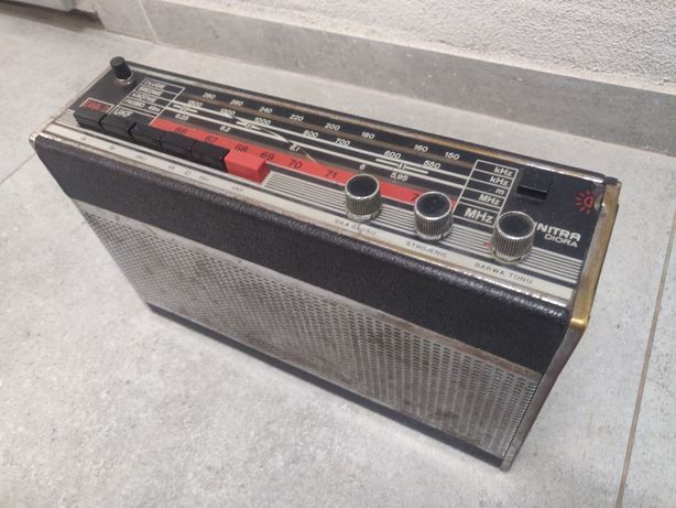 Radio Unitra Diora EWA 2 - Radioodbiornik przenośny mono - PRL