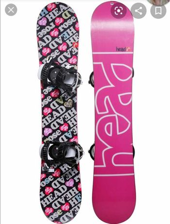 Snowboard Head Rose