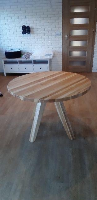 Stół dębowy okrągły , Ø 110