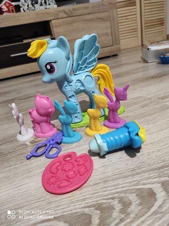 Play doh Kucyki My little pony!