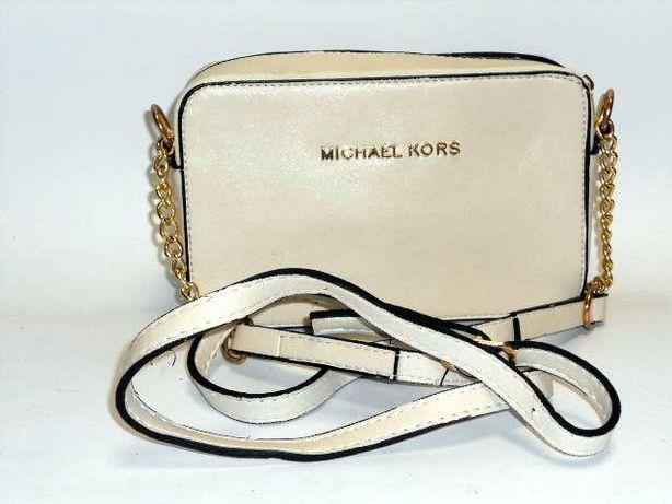 Michael Kors torebka damska złamana biel ecru mini listonoszka