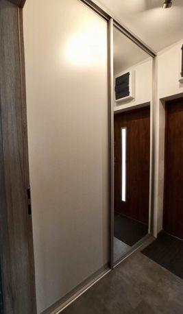 Szafa do zabudowy, drzwi przesuwane