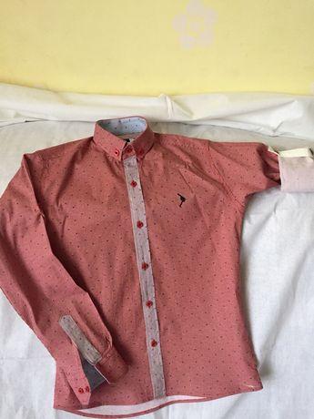 Рубашка для парня 11 лет размер 40-42 от DOCTOR JUNIOR.