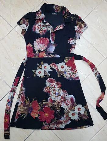 Sukienka dzianina M/ L Lemon piękne kolory