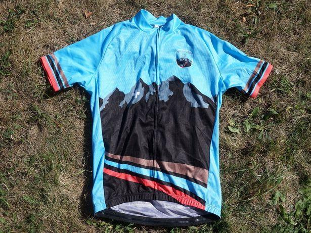 Велофутболка, джерсі Ride the Alps