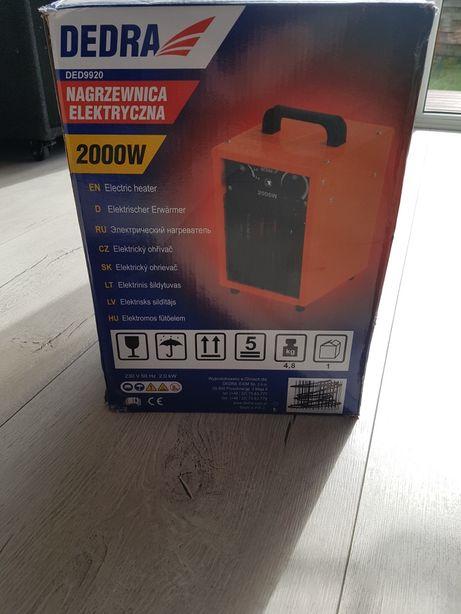 Nagrzewnica elektryczna DEDRA 2000 WAT