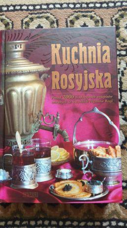 Kuchnia Rosyjska Łukasik Sado wydawnictwo Rea