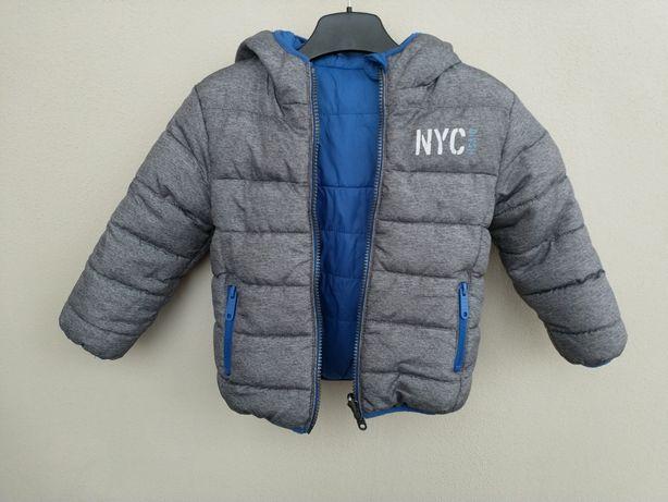 Классная двухсторонняя деми курточка фирмы C&A, размер 92.