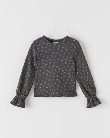 Zara nowa bluzka, bluzeczka 134