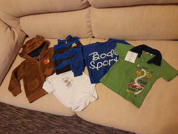 Пакет одежды на мальчика 6-9 месяцев размер 74-80