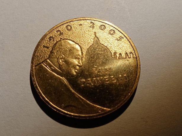 2 zł Jan Paweł II 2005 r