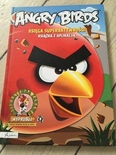 Angry Birds Księga Superaktywności- książka z aplikacją