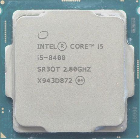 Процессор i5 8400 2.8GHz 9Mb Intel Core 1151 SR3QT | Гарантия 1 Год