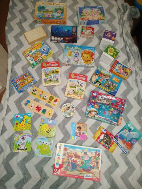 Развивающие игры пазлы вкладыши детские книги раскраски найди пару