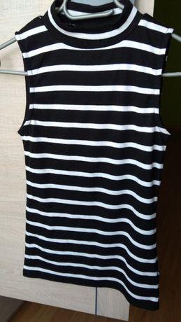 Bluzka top w paski Cropp