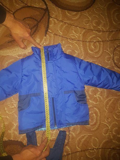 осінньо-зимовий костюм на хлопчика