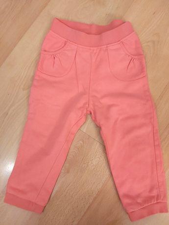 Pomarańczowo-różowe spodnie dresowe marki CoolClub 92
