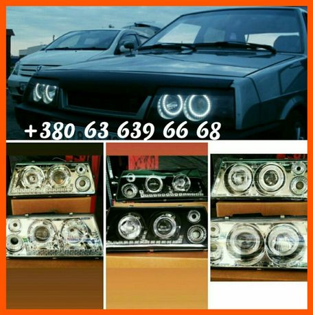 Супер Цена Акция Фары ВАЗ 2108 2109 21099 тюнинг оптика