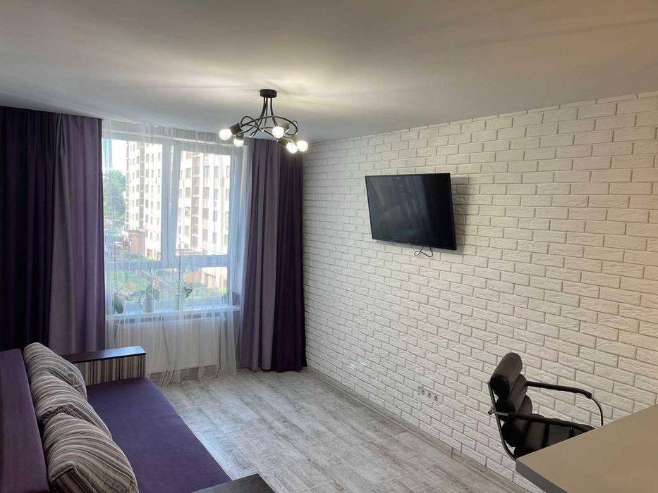 Подобова оренда 1 кімнатної квартири у новобудові-1