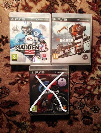 Ігри до ps3, madden,skate