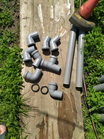Продам трубы 50мм диаметр .для канализации.